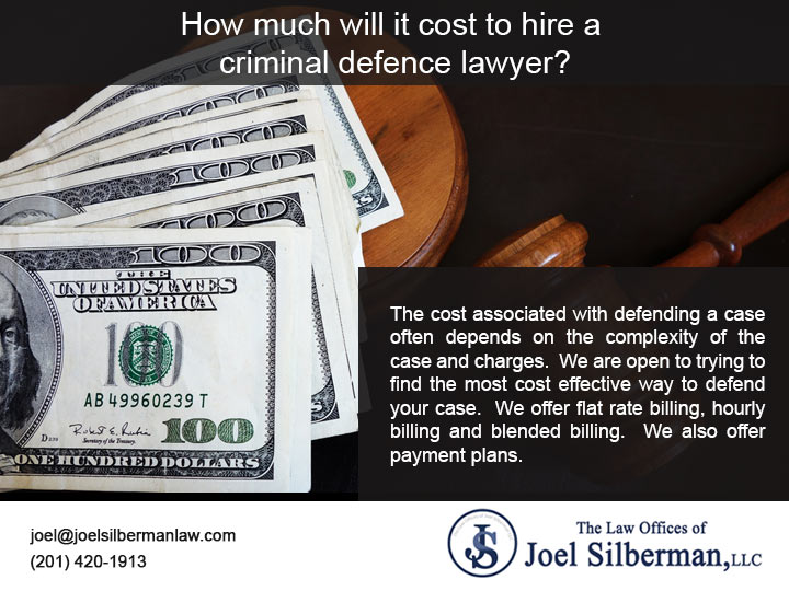 How much will it cost to hire a criminal defence lawyer?