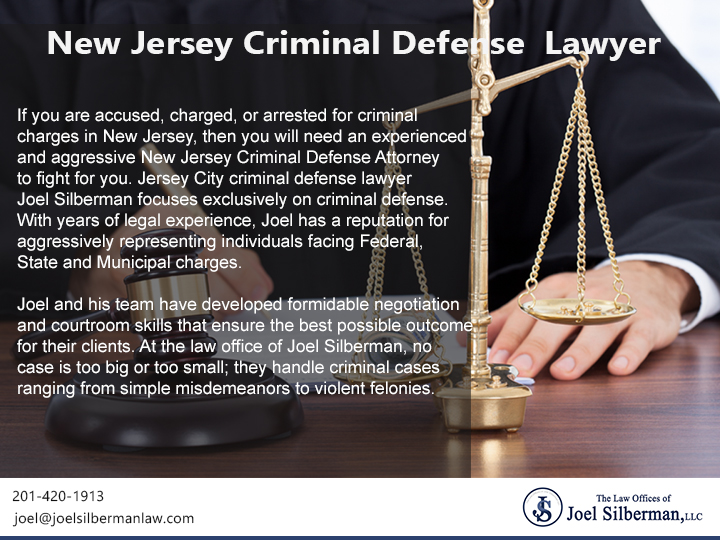 Joel Silberman – New Jersey Criminal Defense Lawyer