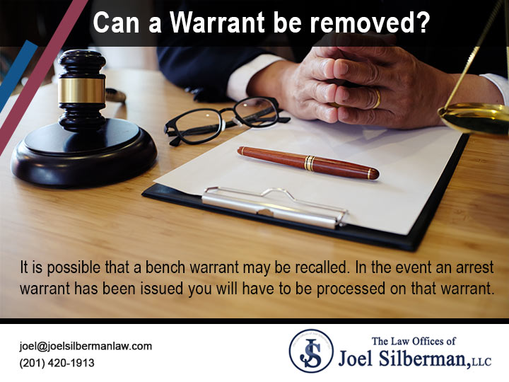 Can a Warrant be removed?
