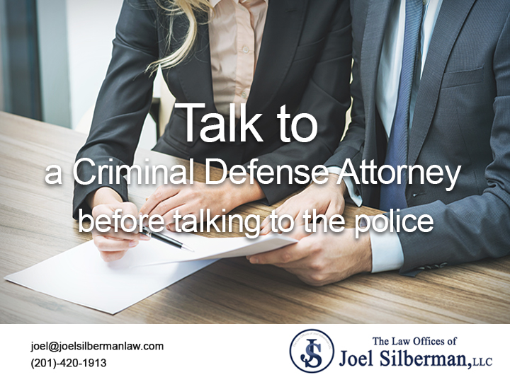 Talk to a Criminal Defense Attorney before talking to the police title=
